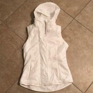 White Lululemon Ski Vest